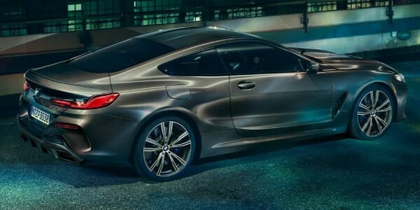 2019 BMW 8 Series - right side view