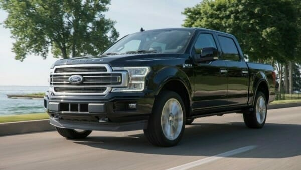 2019 Ford F-150 - left front view