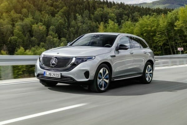 Mercedes-Benz EQC - left front view
