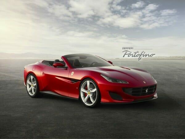 2018 Ferrari Portofino - right side view