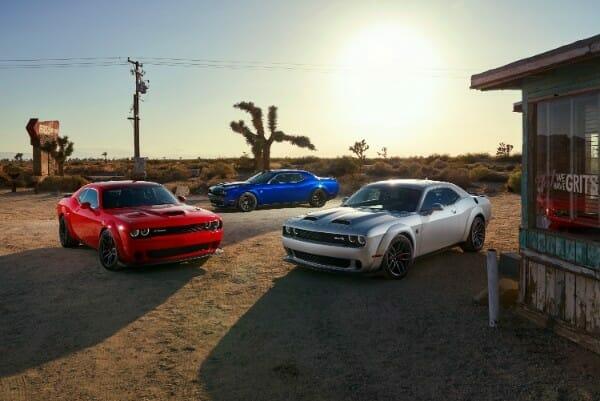 2019 Dodge Challenger SRT Hellcat Redeyes