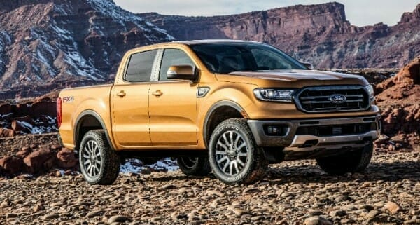 2019 ford ranger is the leader in its class