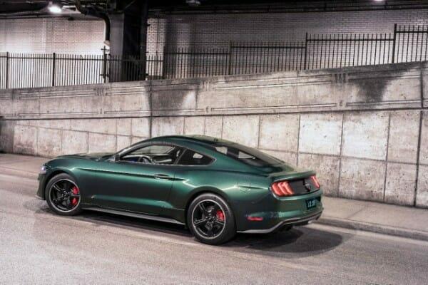 2019 Ford Mustang Bullitt - left side view