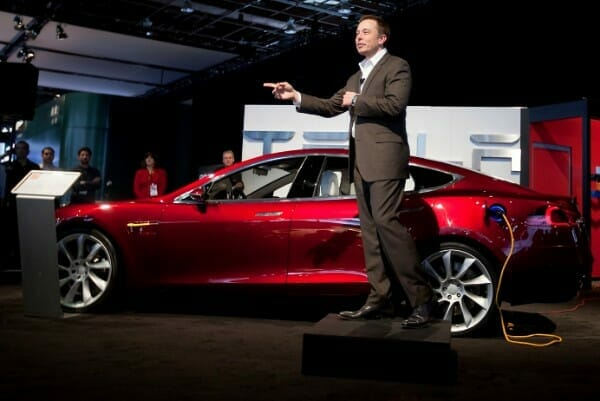 Elon Musk steps down