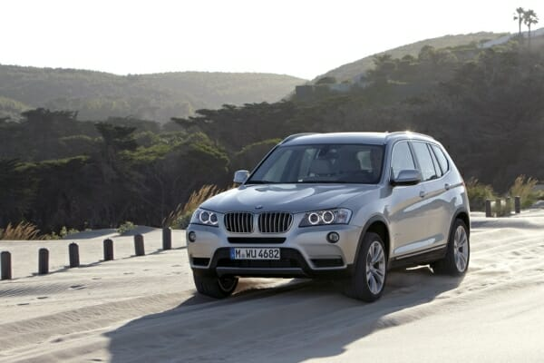 2011 BMW X3 - front view