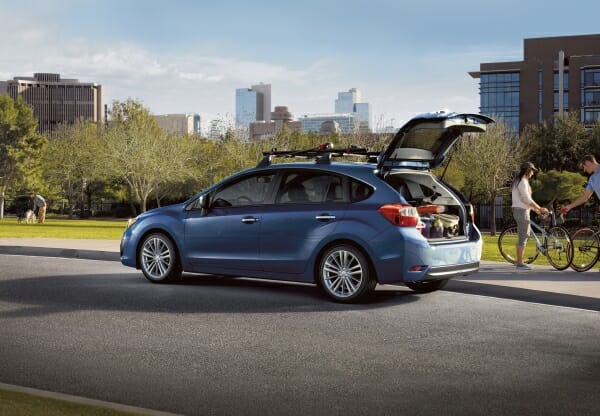 2013 Subaru Impreza - left side view