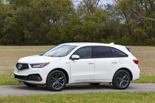 2019 Acura MDX - left side view
