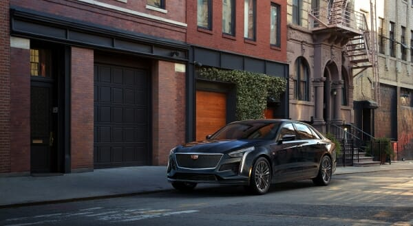 2019 Cadillac CT6 - left front view