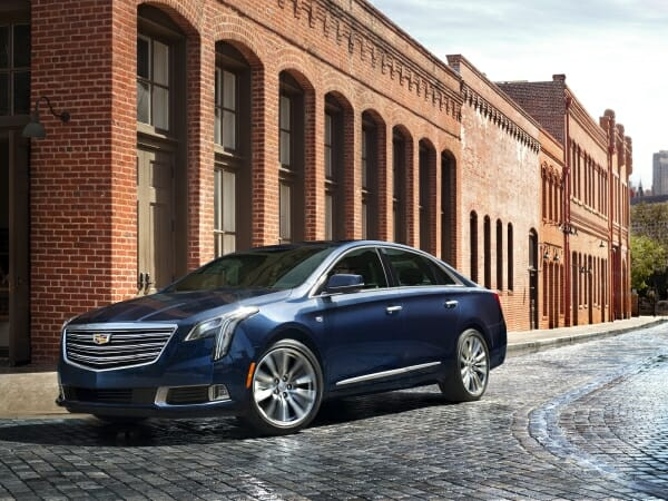 2019 Cadillac XTS - left side view