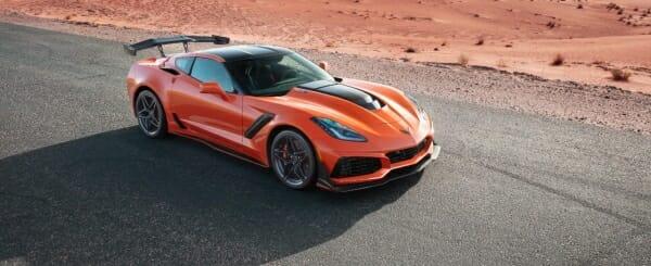 Corvette prices