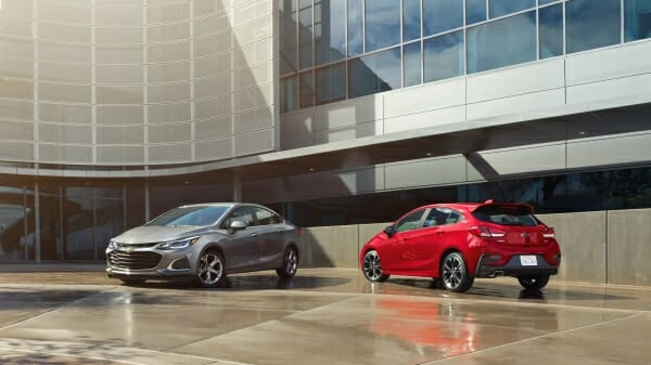 2019 Chevrolet Cruze - hatchback and sedan