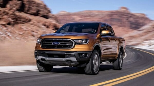 2019 Ford Ranger MPG