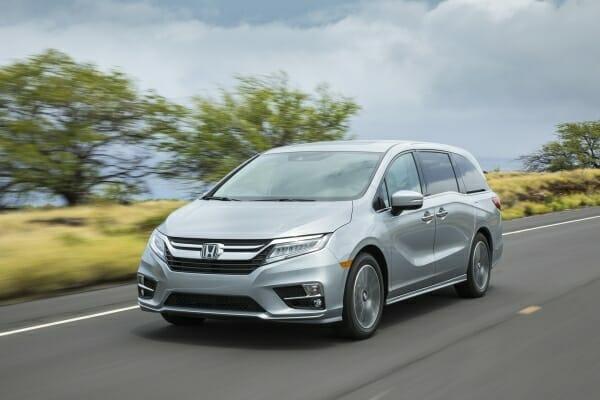 latest Honda Odyssey recall