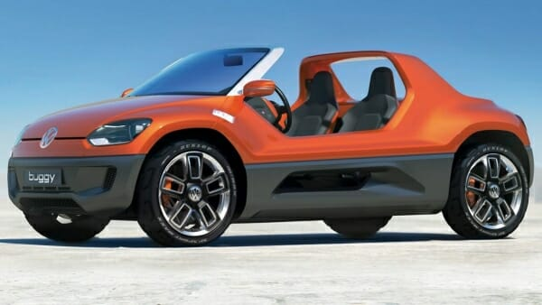 electric Volkswagen dune buggy