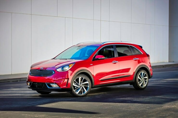 2019 Kia Niro EV - drivers side view