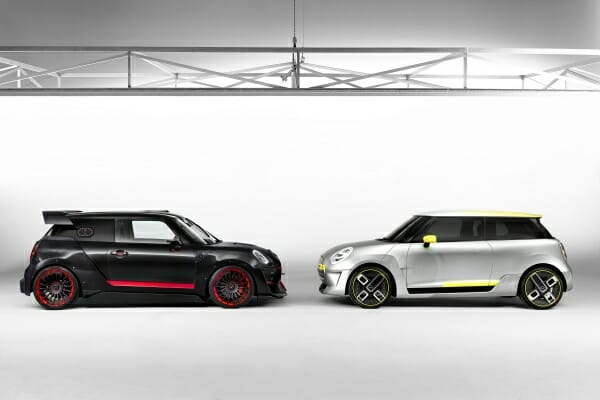 2019 Mini Electric - side view