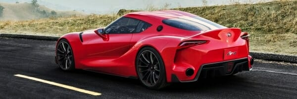 2019 Toyota Supra - left side view