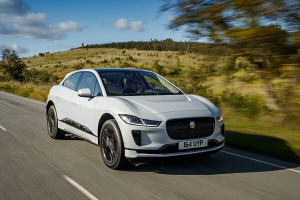 electric jaguar i-pace