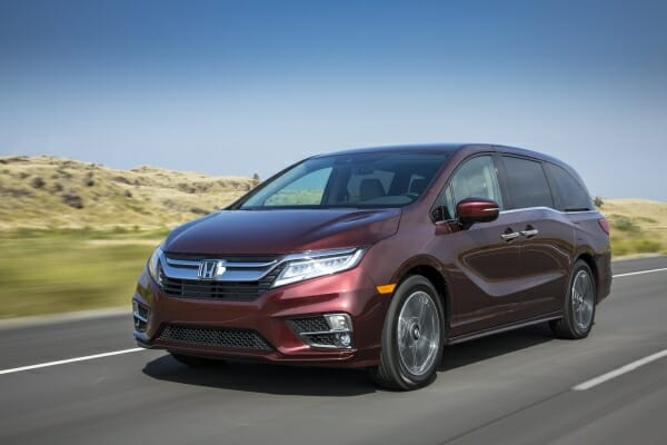 2019 Honda Odyssey - left front view