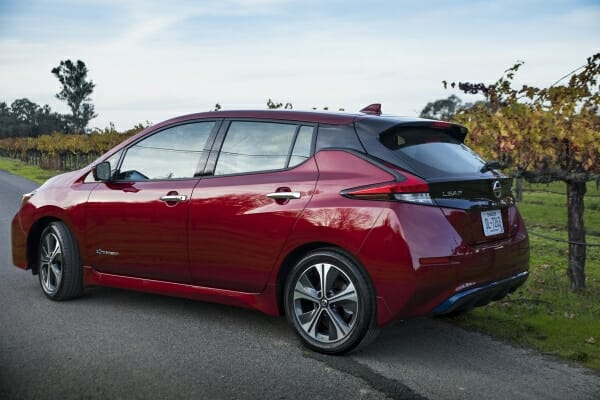 2019 Nissan LEAF - left rear view