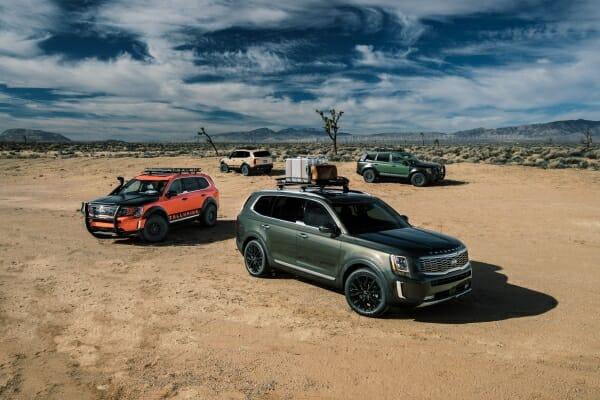 2020 Kia Telluride - model lineup