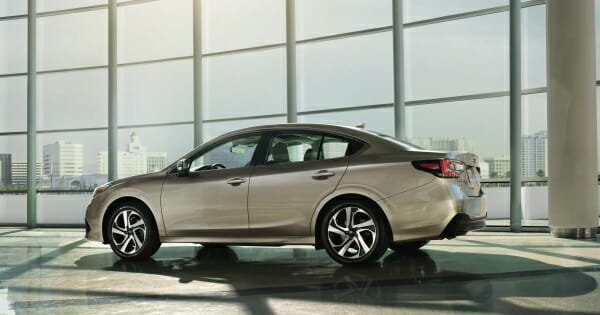 2020 Subaru Legacy - drivers side view