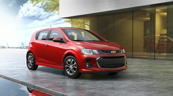 2019 Chevrolet Sonic - right front view