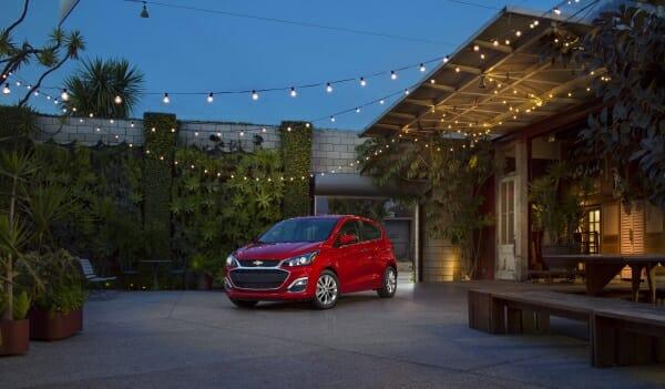 red 2019 Chevrolet Spark
