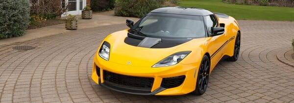 2020 Lotus sports car