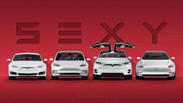 sexy 2020 Tesla Lineup