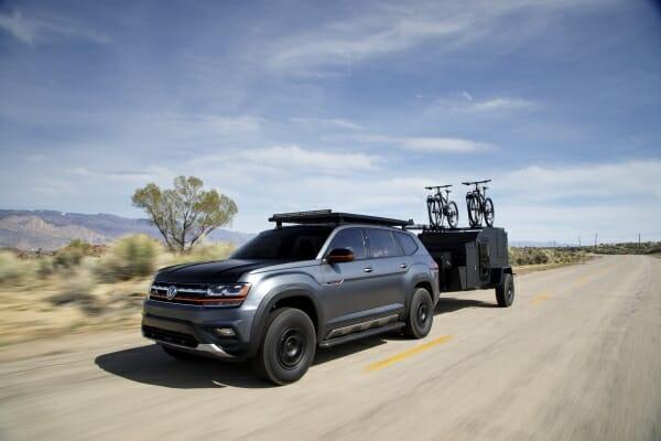 2019 Volkswagen Atlas Basecamp Concept