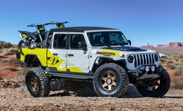 Jeep flatbill Easter Jeep Safari
