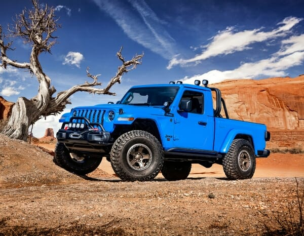 blue Jeep J6