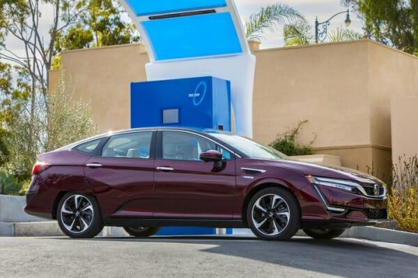 2019 Honda Clarity at charger