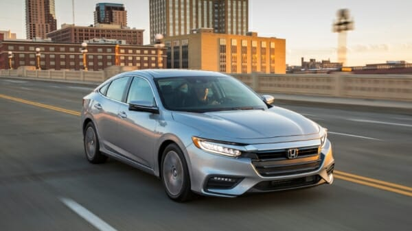 silver 2020 Honda Insight