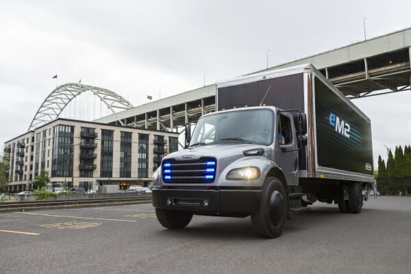 Freightliner electric vehicles