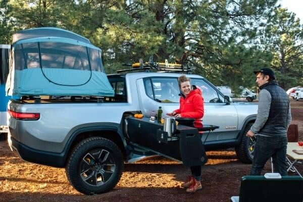 Rivian R1T Camper