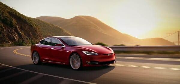 red 2019 Tesla Model S