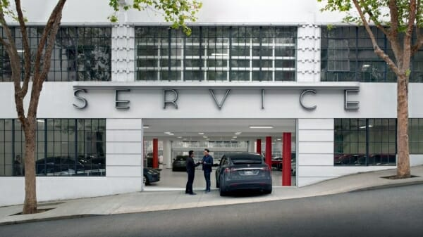 Tesla Service Department