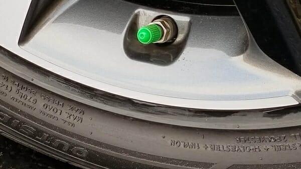 nitrogen in car tires