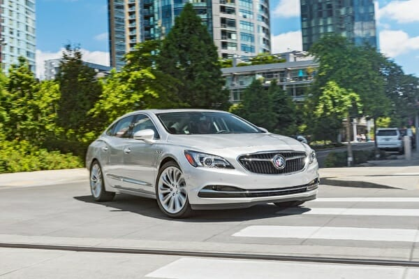 Buick LaCrosse eAssist right front view
