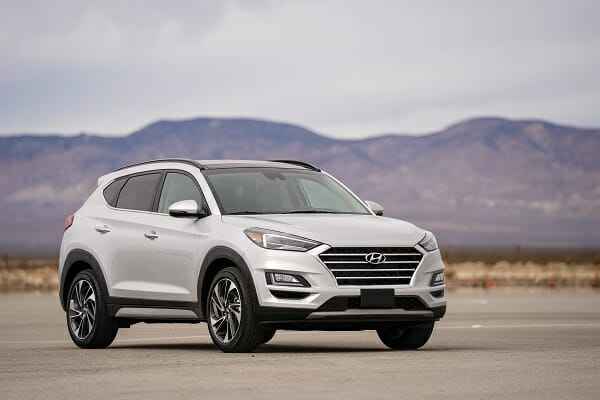 2019 Hyundai Tucson - right front view