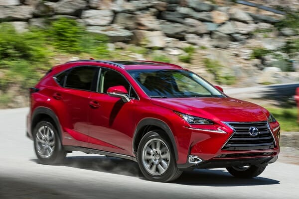 Lexus NX300h - right side view