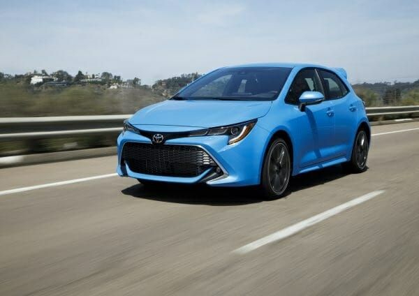 2019 Toyota Corolla Hatchback - left front view