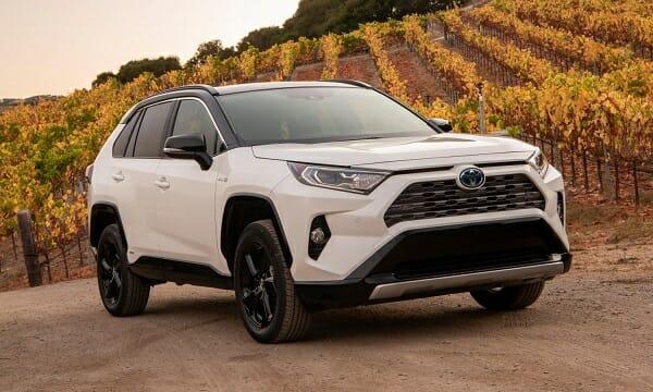 2019 Toyota RAV4 Hybrid - right front view