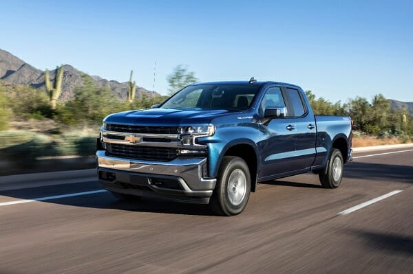 2019 Chevrolet Silverado - left front view