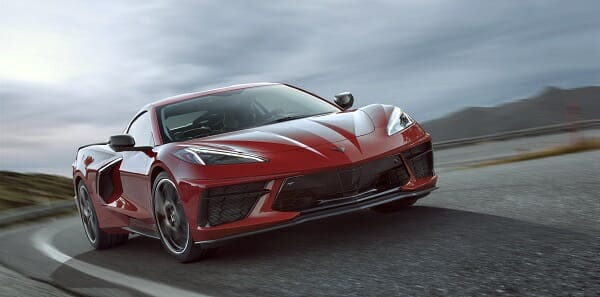 2020 Chevrolet Corvette Stingray - front view