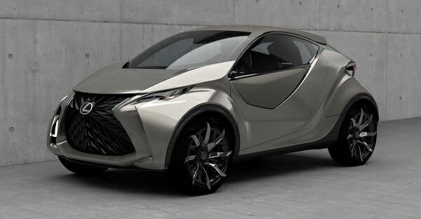 Lexus all-electric car