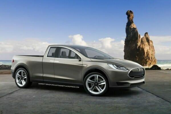 Tesla prototype pickup