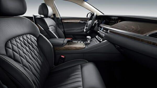 2020 Genesis G90 - interior